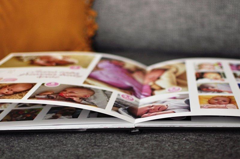 indywidualnie zaprojektowany personalizowany album Twojego dziecka, pamiętnik pierwszego roku
