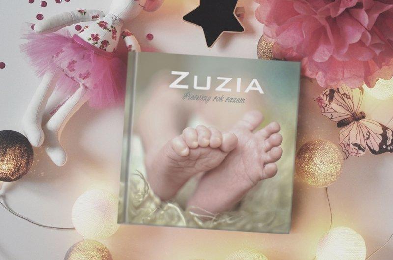 indywidualnie zaprojektowany personalizowany album Twojego dziecka, dla dziewczynki